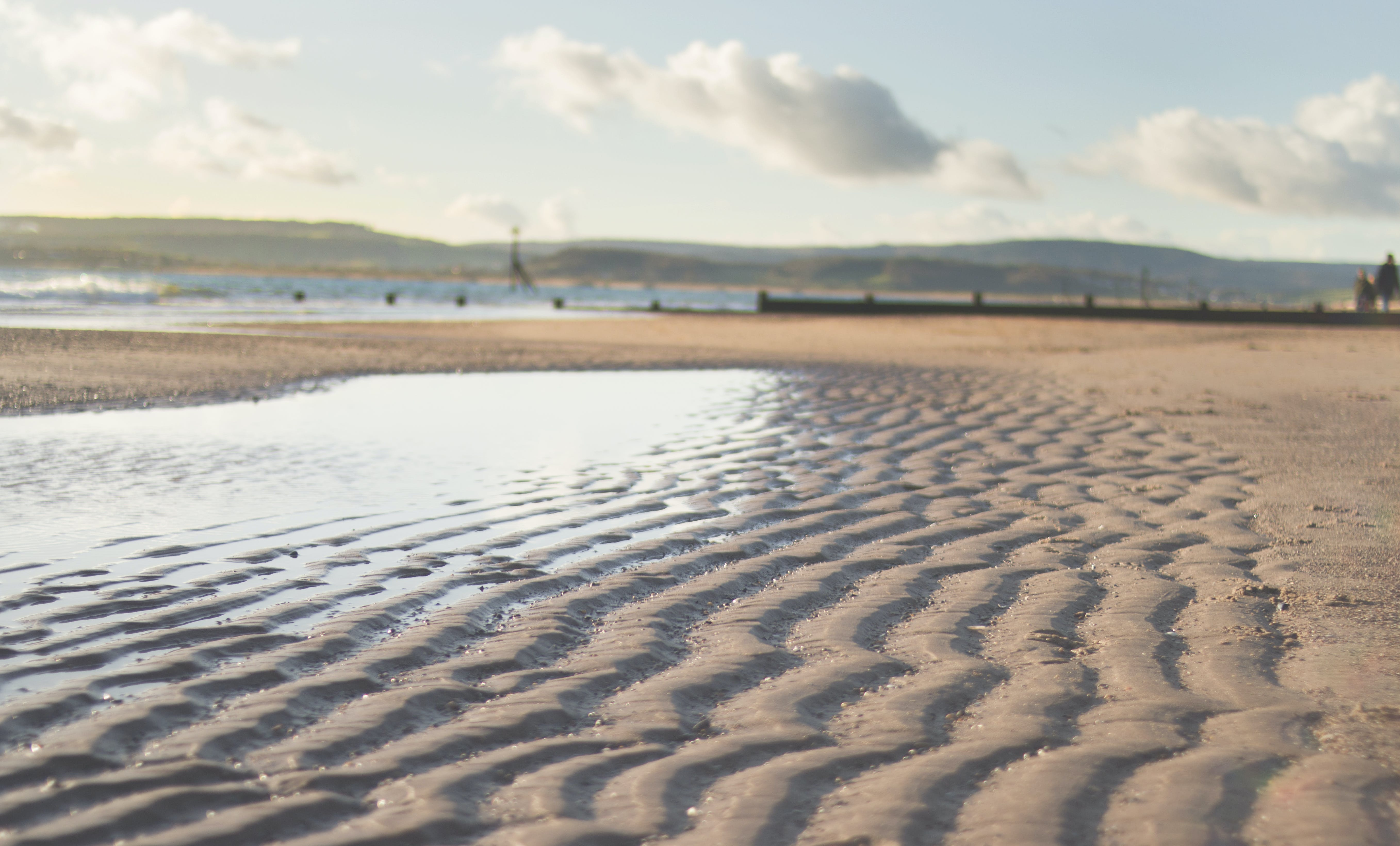 Free stock photo of beach, clouds, exmouth, sand