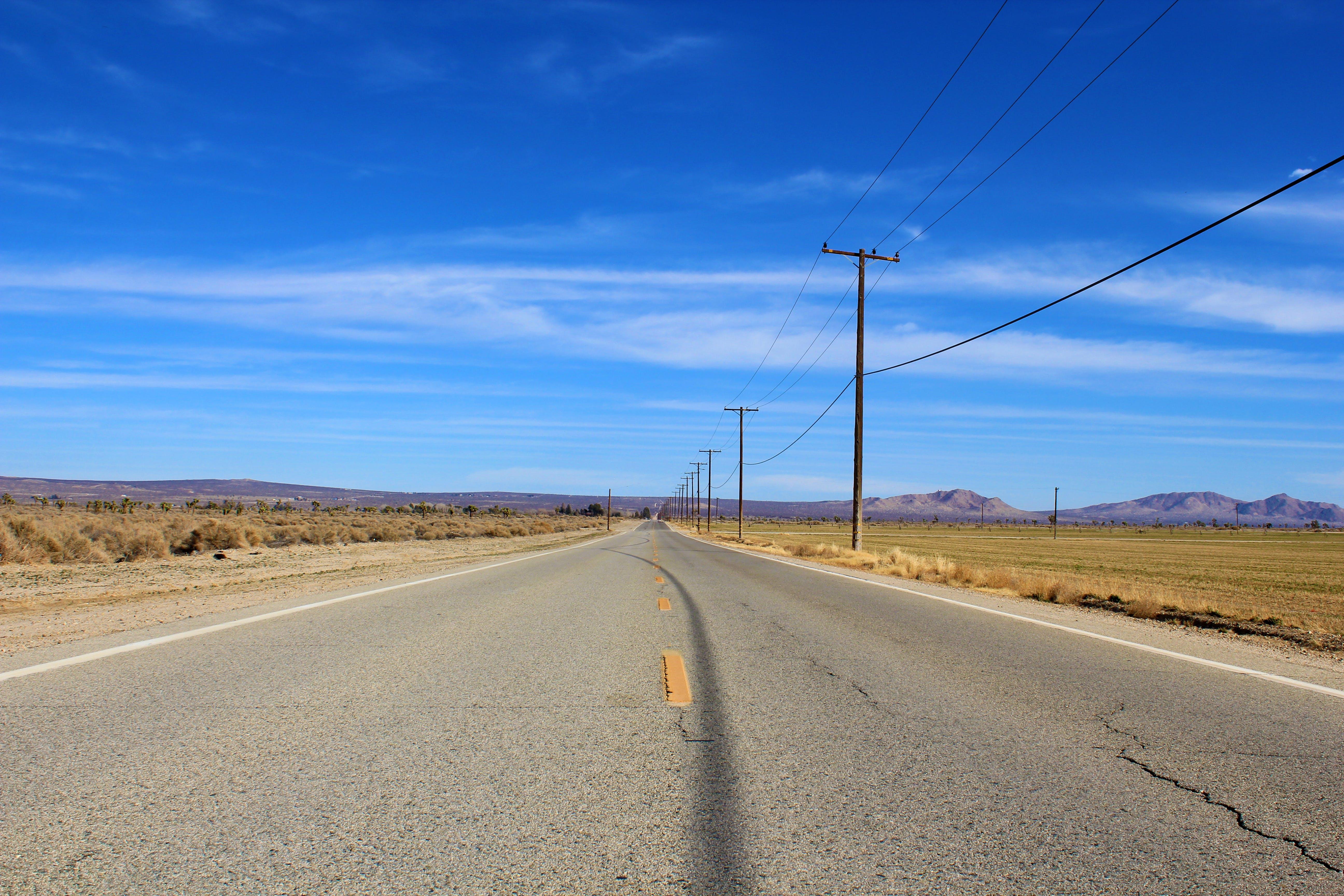 Free stock photo of road