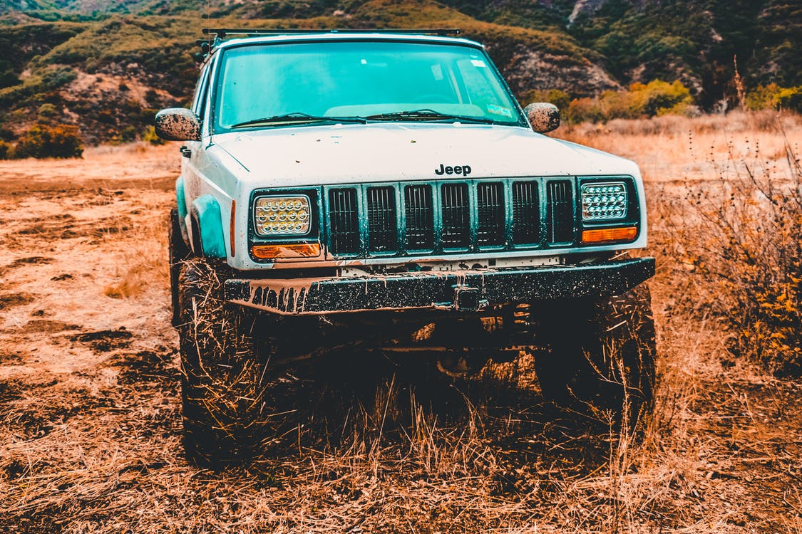 automóvil, aventura, barro