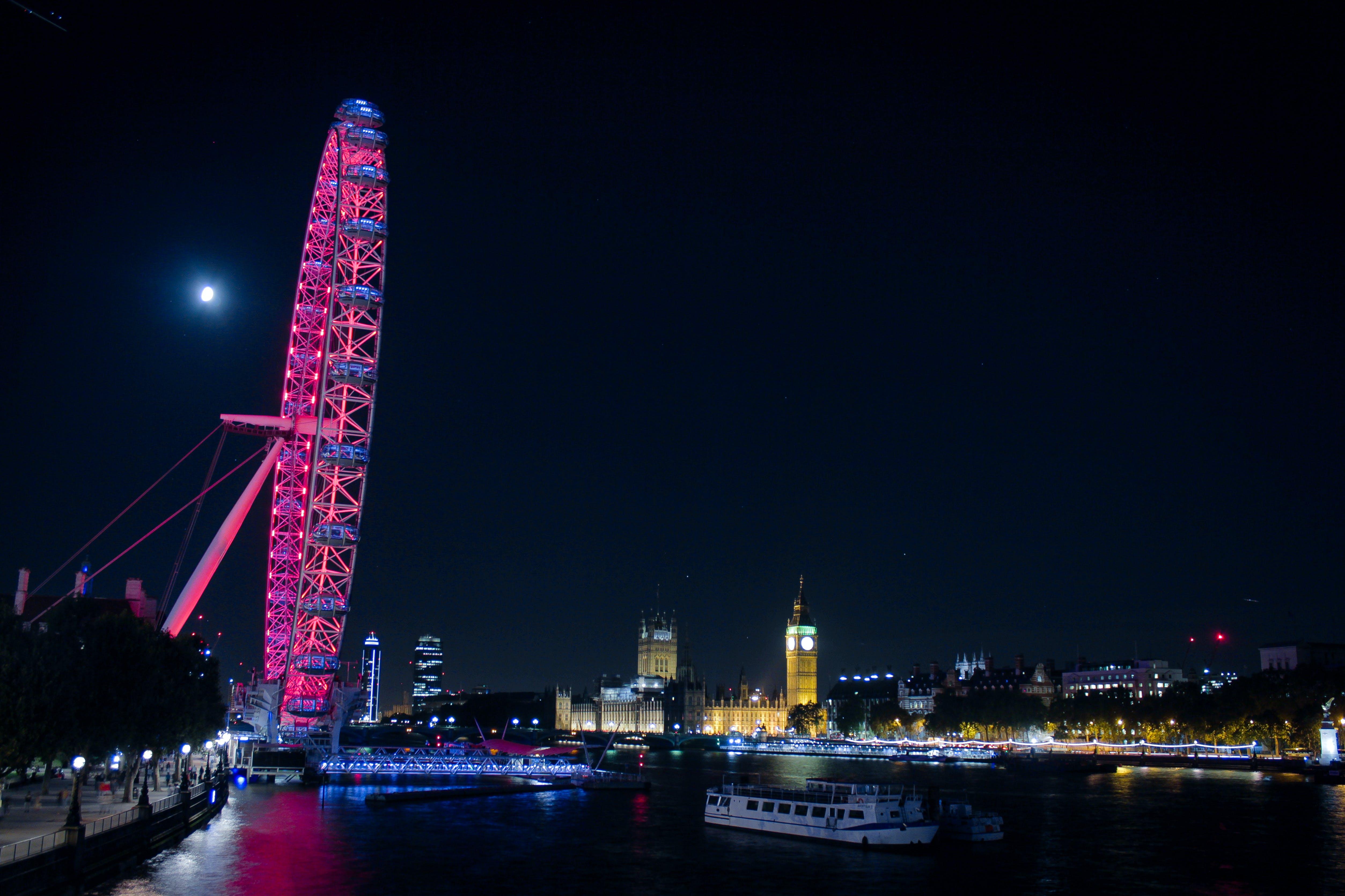 Δωρεάν στοκ φωτογραφιών με big ben, london eye, γέφυρα, κόκα κόλα