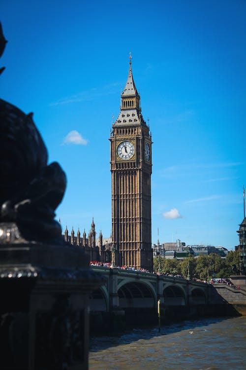 倫敦, 倫敦大笨鐘, 地標, 城市 的 免费素材照片