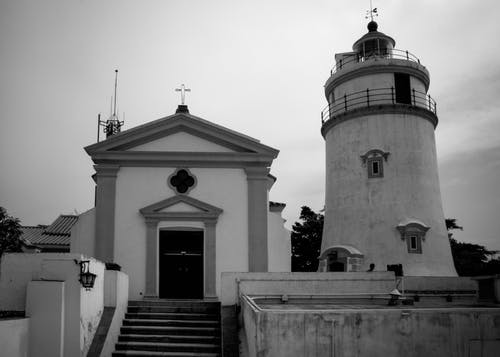 Free stock photo of church, fort guia, macao