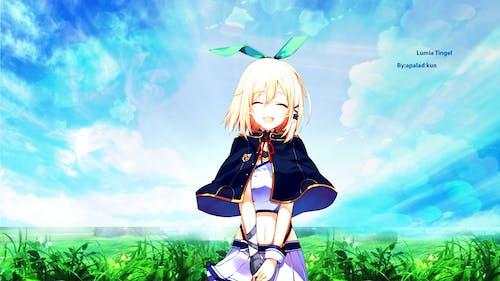 Foto stok gratis anime, fan