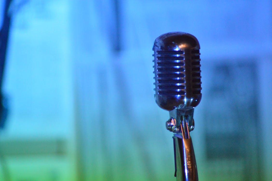 microphone, music, singing instrument