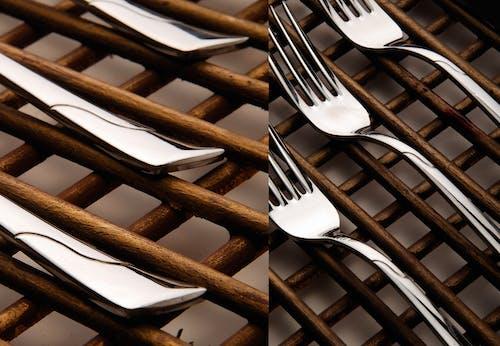Fotos de stock gratuitas de bifurcación, comer, de madera, metal