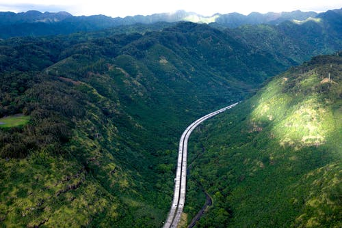 Kostenloses Stock Foto zu autobahn, berge, hawaii