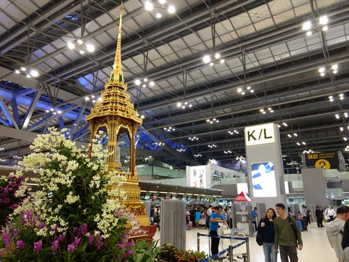 Free stock photo of Bangkok airport