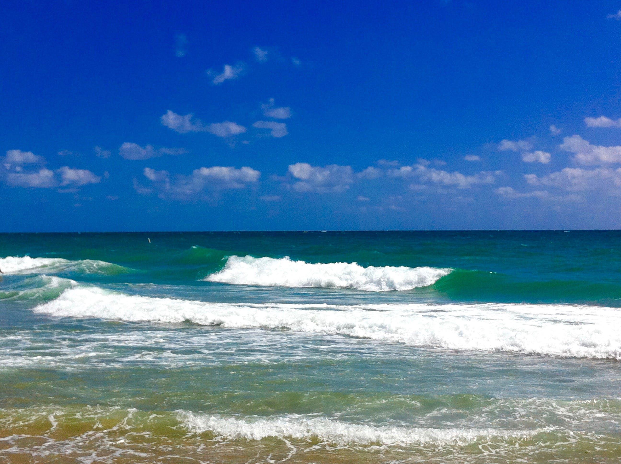 Free stock photo of beach, ocean, waves