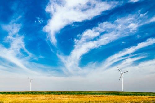 Imagine de stoc gratuită din câmp, centrale electrice, cer, energie
