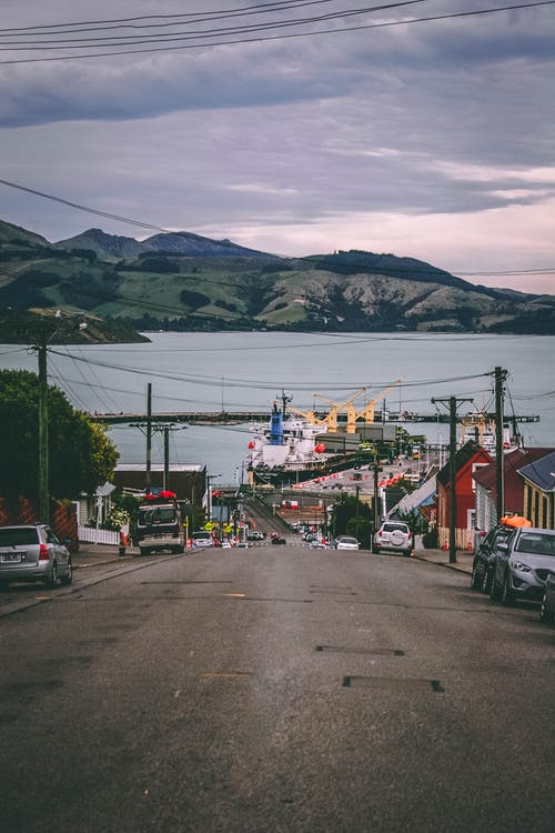 Gratis stockfoto met auto's, boot, haven, hijskranen
