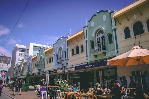 Fotos de stock gratuitas de cafés, calle, cdb, comensales