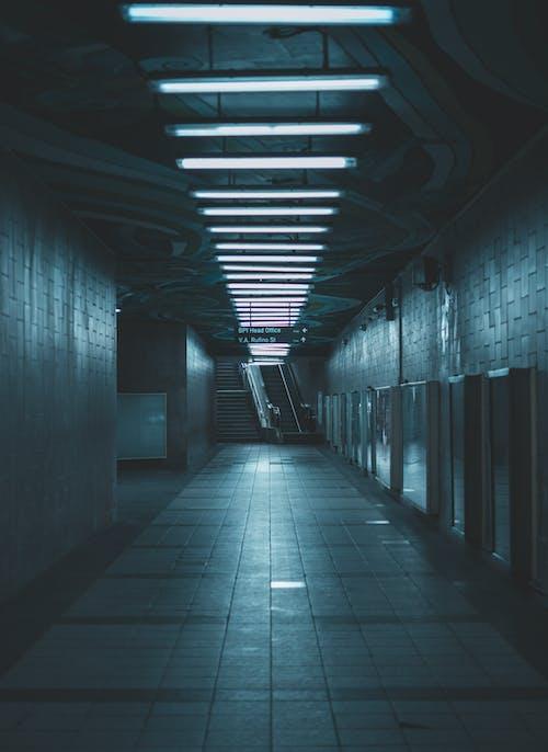An Empty Pedestrian Underpass
