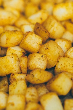 Free stock photo of food, lunch, meal, potatoes