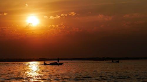 Fotos de stock gratuitas de hermosa bangladesh, paisaje, río puesta de sol