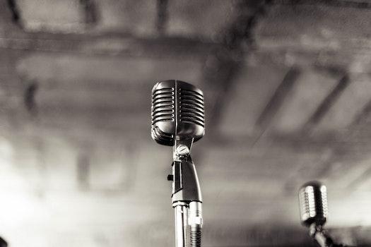 Kostenloses Stock Foto zu schwarz und weiß, nacht, musik, club