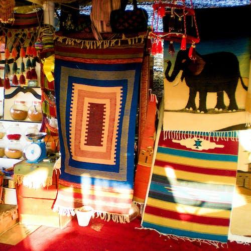 Foto profissional grátis de arte, carpete, close, comércio