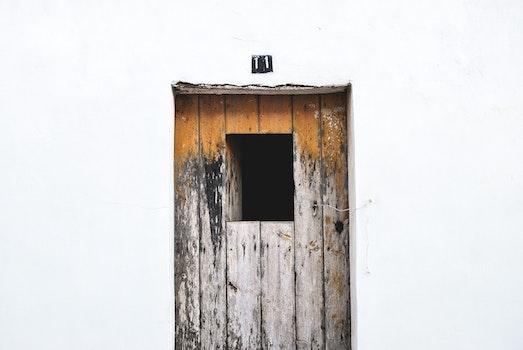 Grey Wooden Door