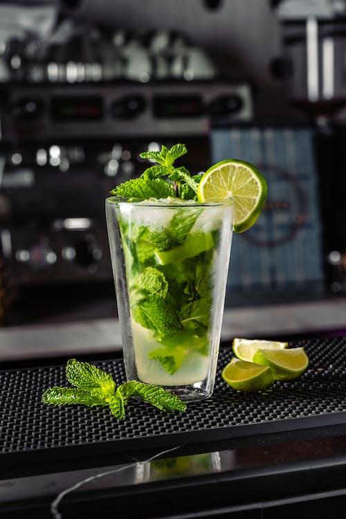 Free stock photo of juice, lime, mocktail