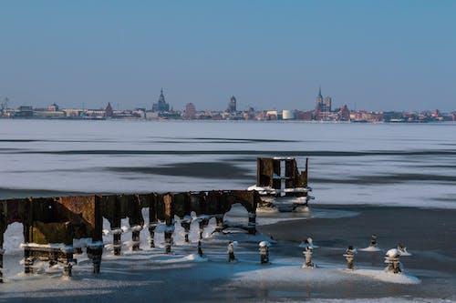 Baltık Denizi, panorama, panorama görünümü, Su içeren Ücretsiz stok fotoğraf