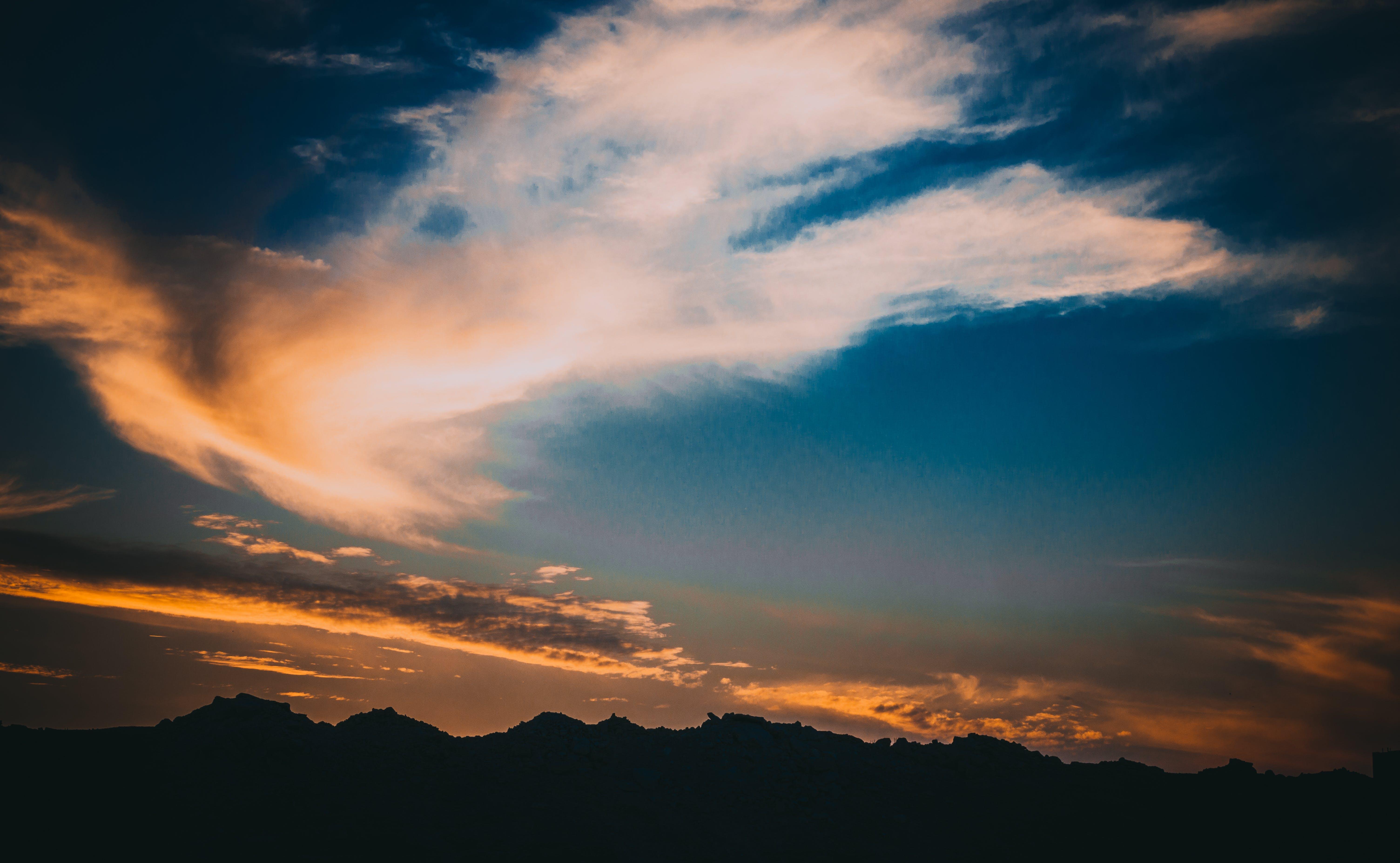 Gratis stockfoto met bergen, dageraad, decor, dramatisch
