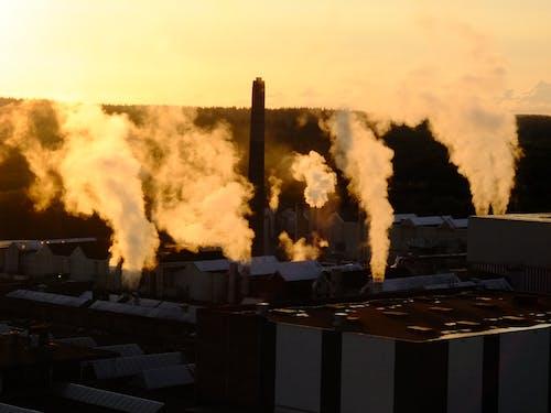 Безкоштовне стокове фото на тему «#minimalism #factory #sunset»