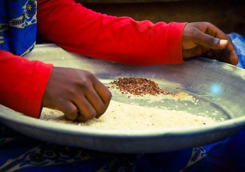 Free stock photo of ghana, market woman, rice, trader