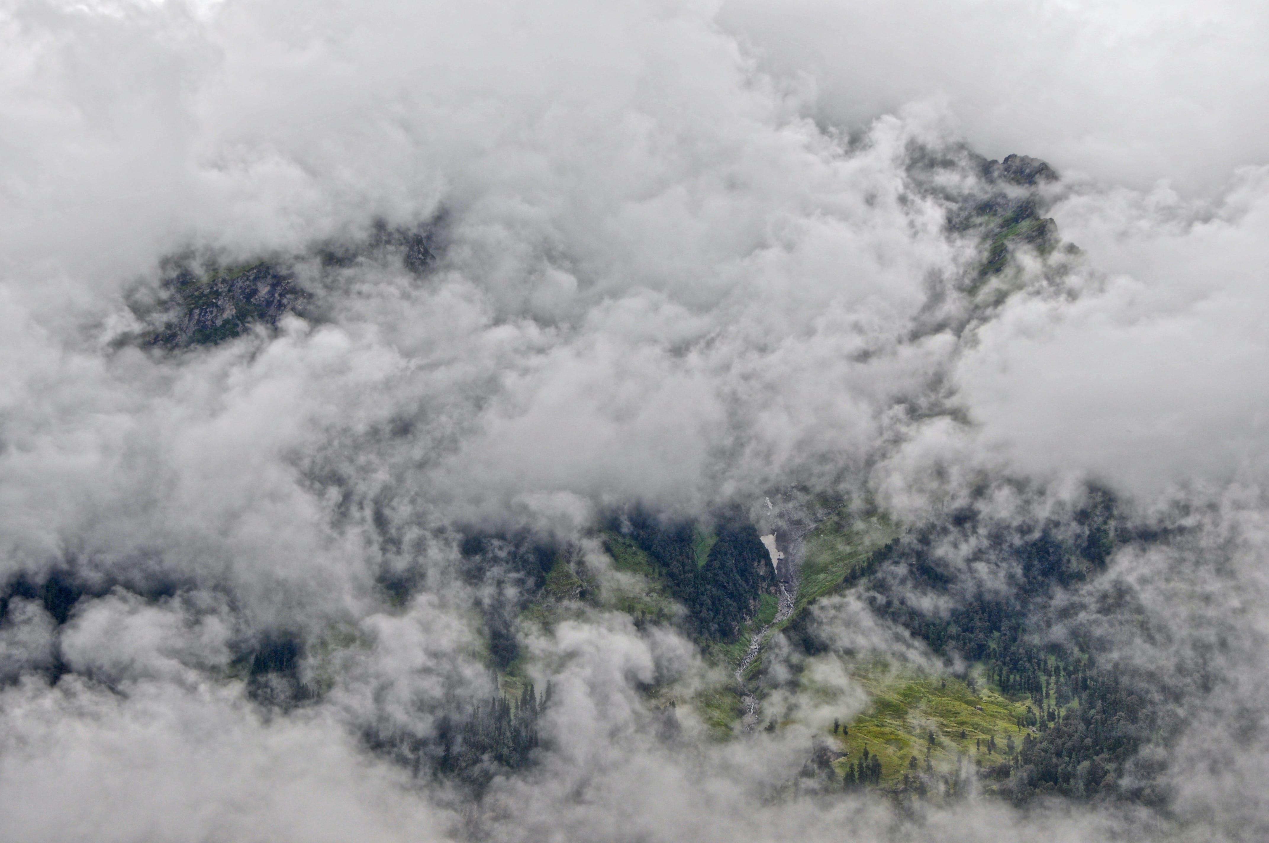 Kostenloses Stock Foto zu über wolken