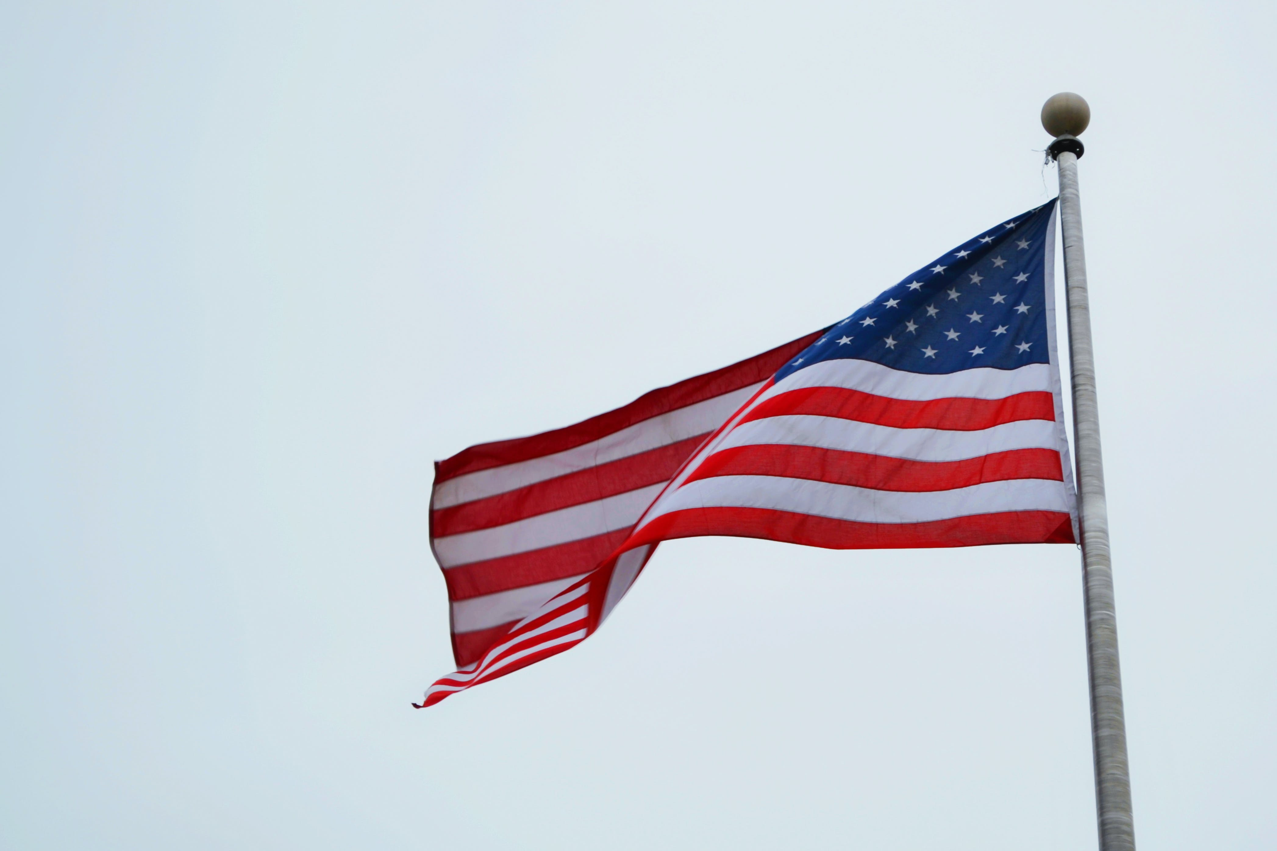 Close-Up Photo of Flag