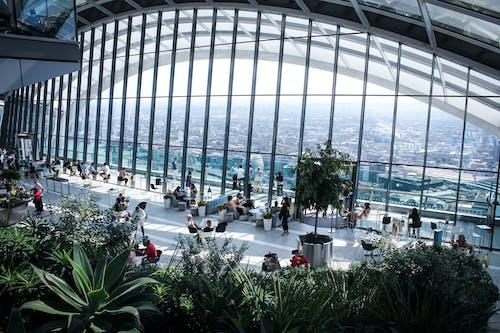 Immagine gratuita di architettura, articoli di vetro, design architettonico, edificio