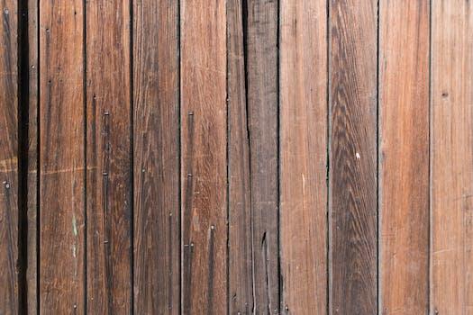 macro shot of wooden planks free stock photo