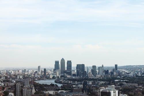 Ingyenes stockfotó belváros, ég, épületek, felhőkarcolók témában