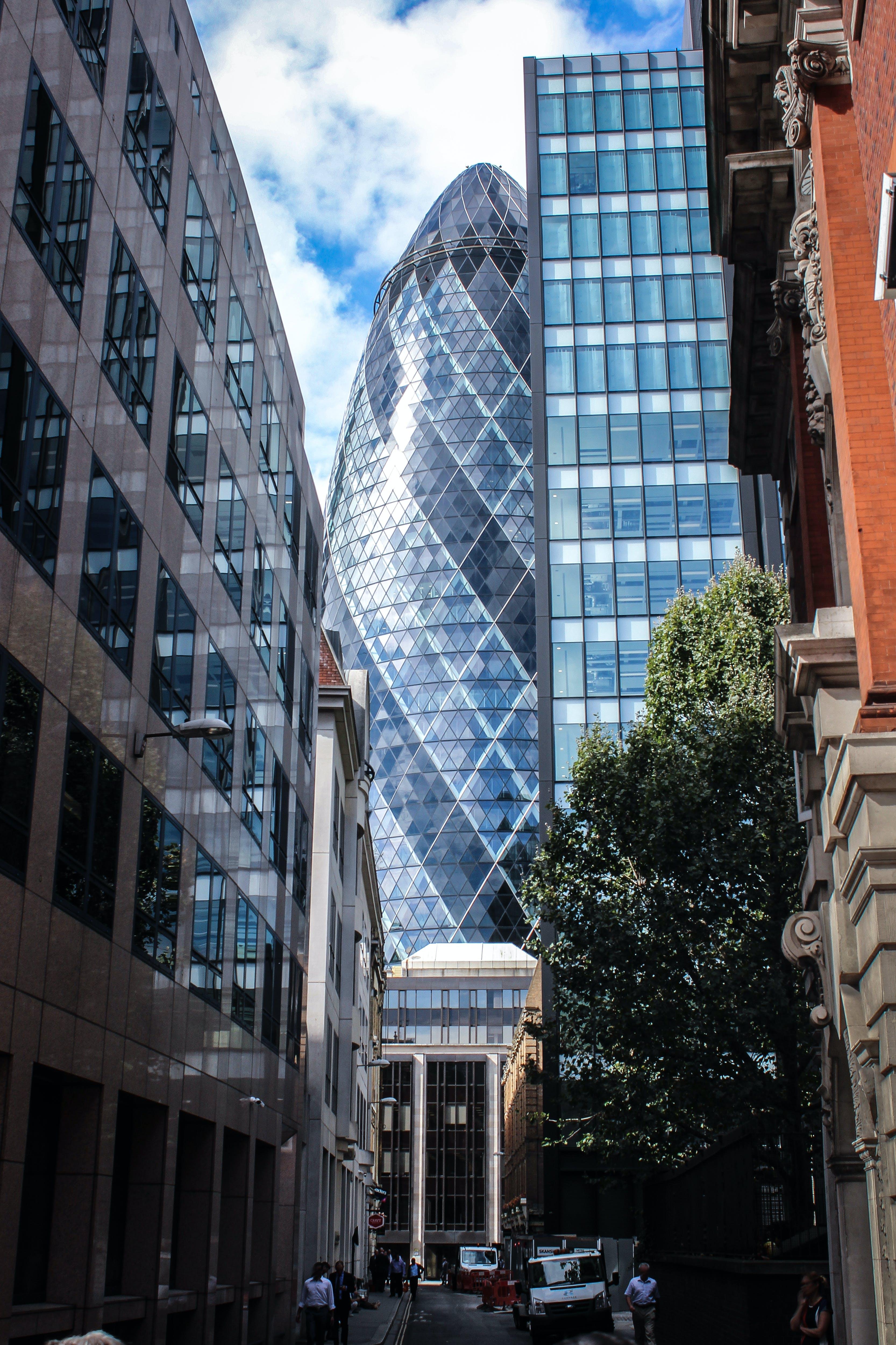 arquitectura, carrer, centre de la ciutat