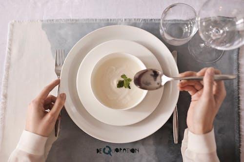 Foto d'estoc gratuïta de bifurcació, bol, cullera, deliciós