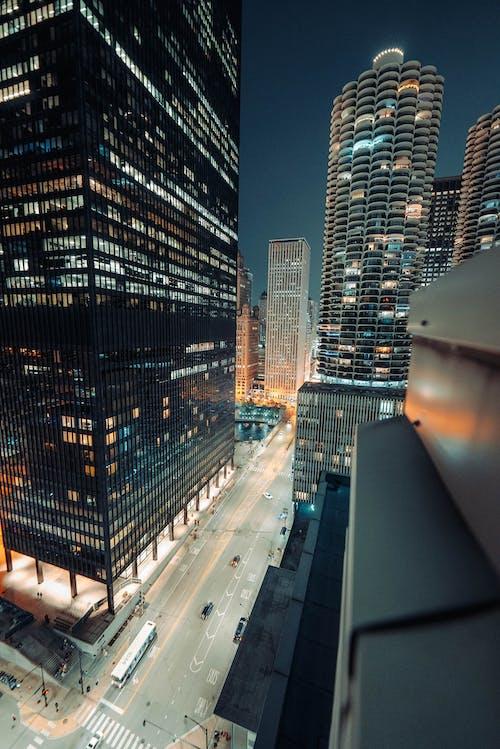 Gratis stockfoto met 's nachts, architectuur, avond