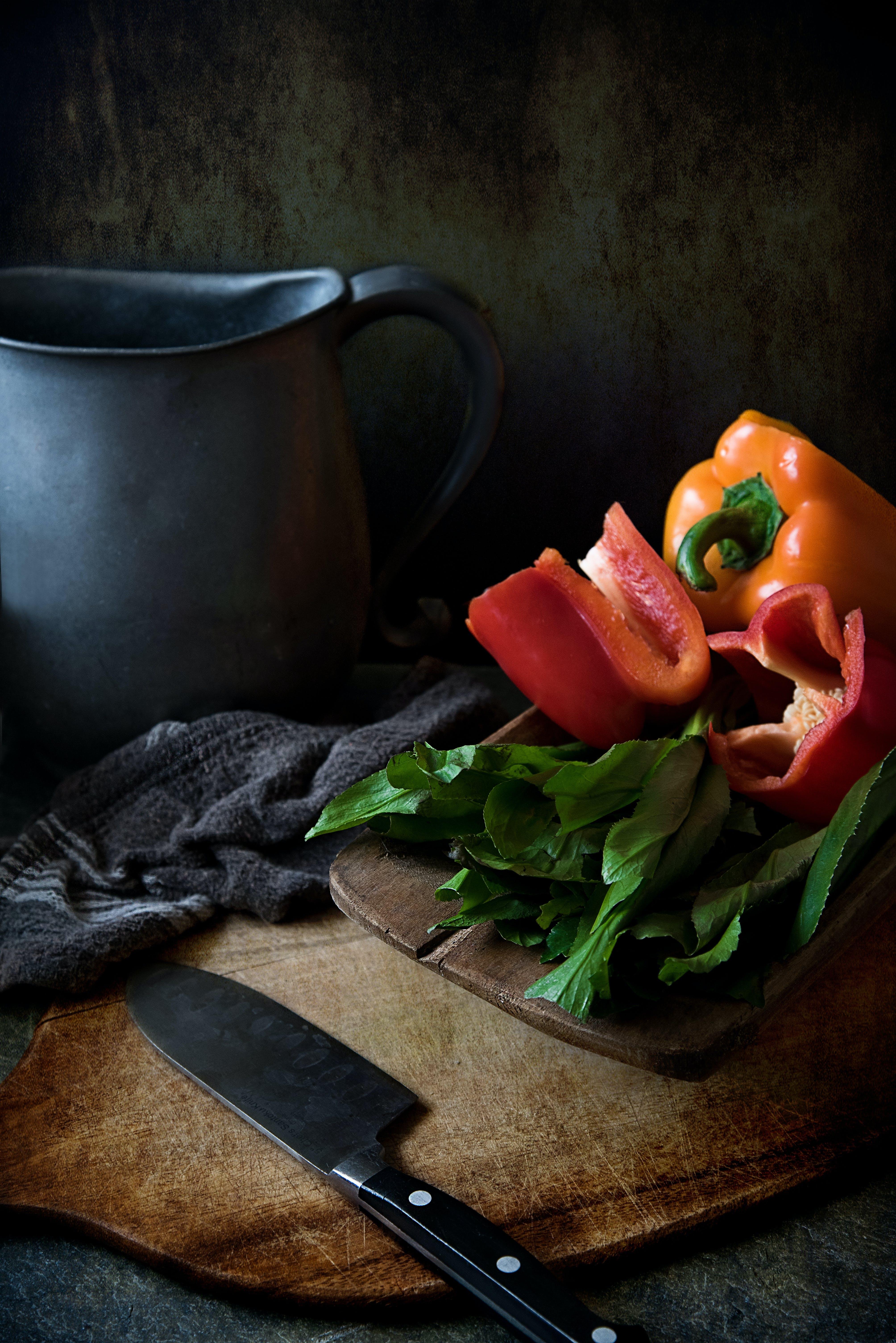 Základová fotografie zdarma na téma čerstvý, džbán, papričky, papriky
