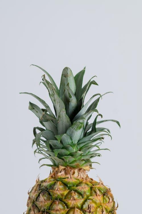 ананас, великий план, здоровий