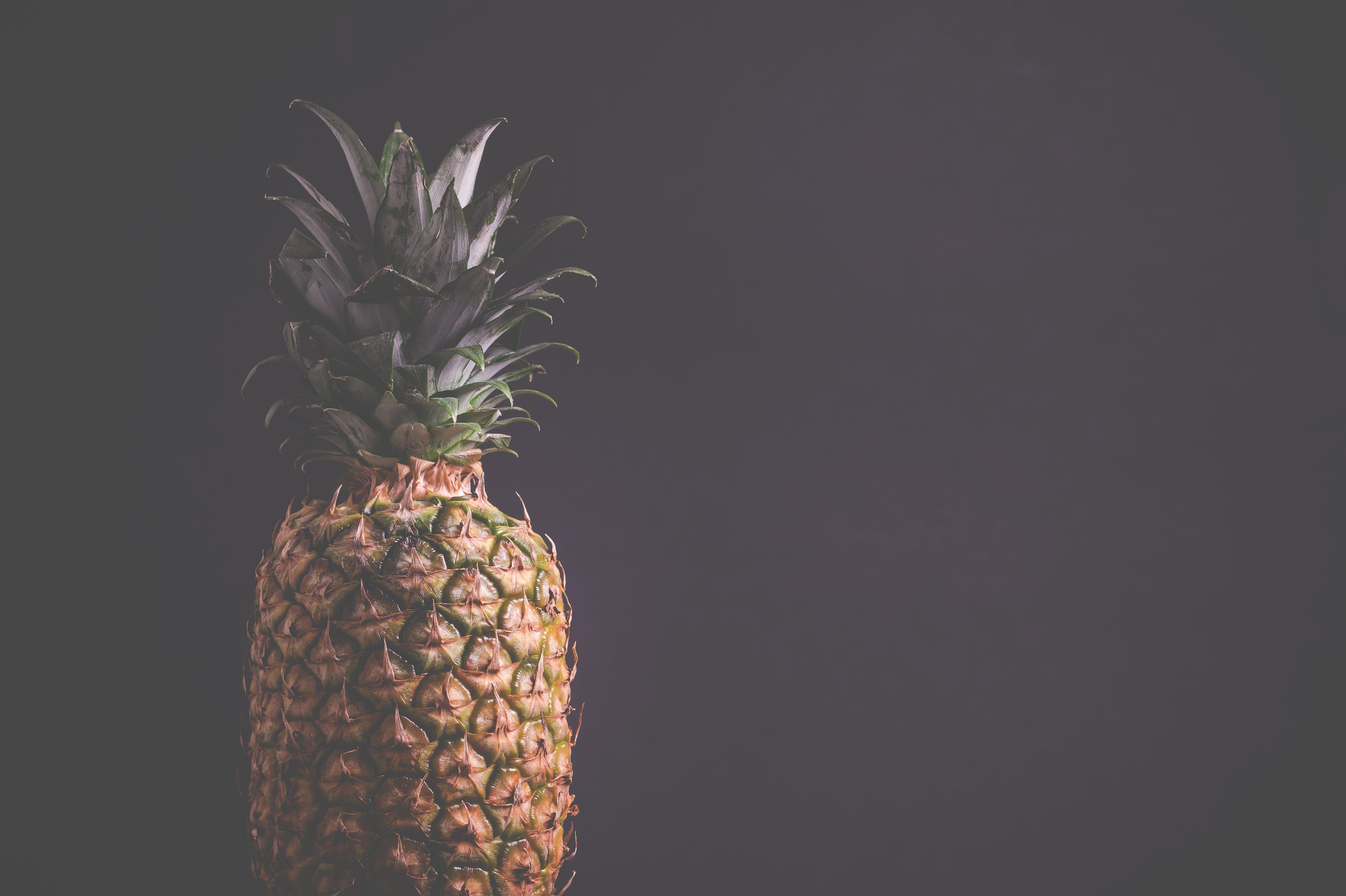Kostenloses Stock Foto zu essen, gesund, blätter, ananas