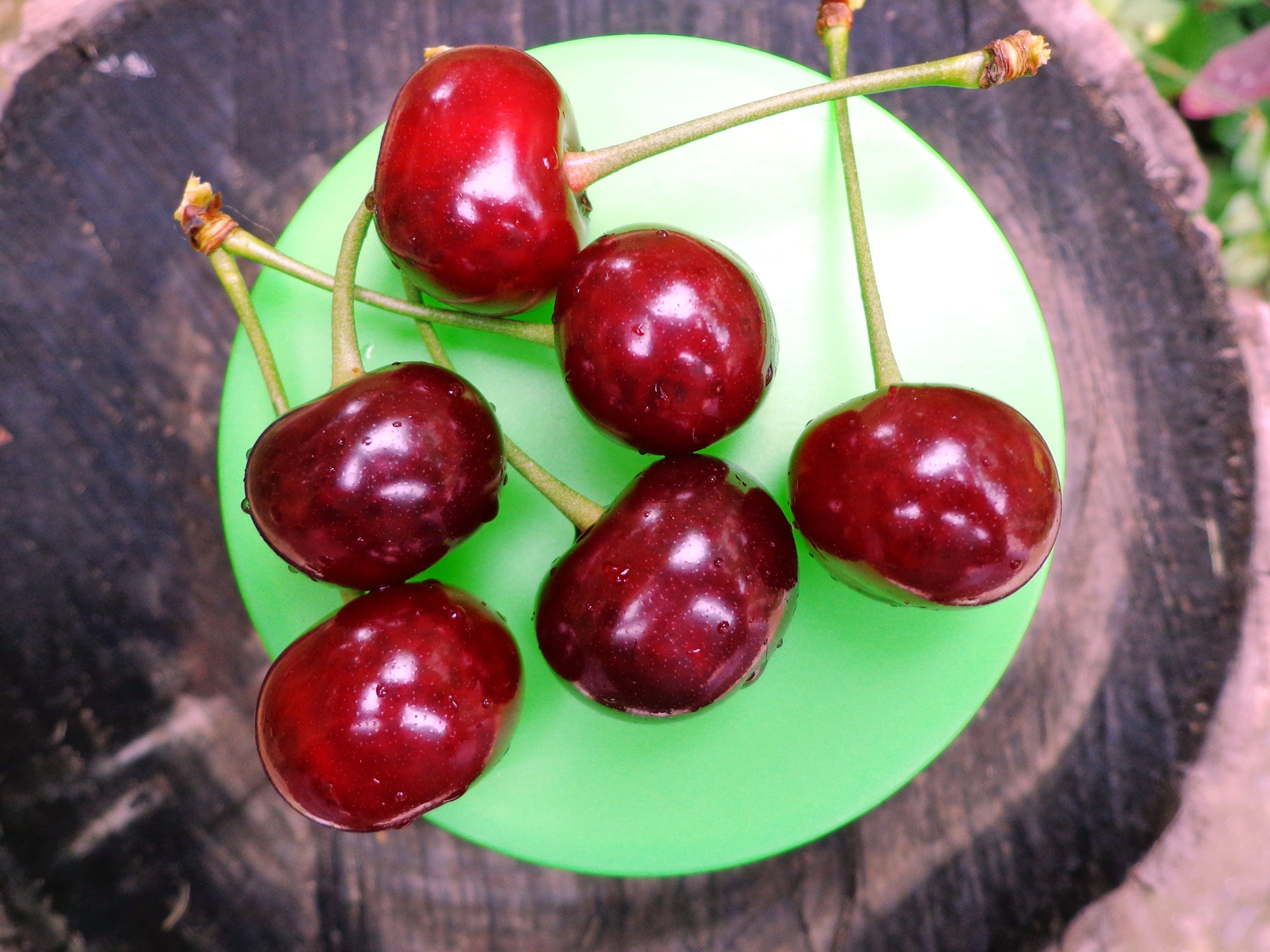 Бесплатное стоковое фото с весенние фрукты, вишни, вишня, еда
