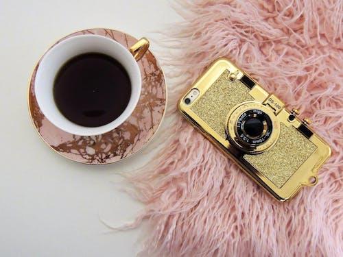 Gratis stockfoto met apple, cafeïne, drinken, goud