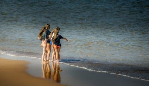 Kostnadsfri bild av flicka, flickor, strand