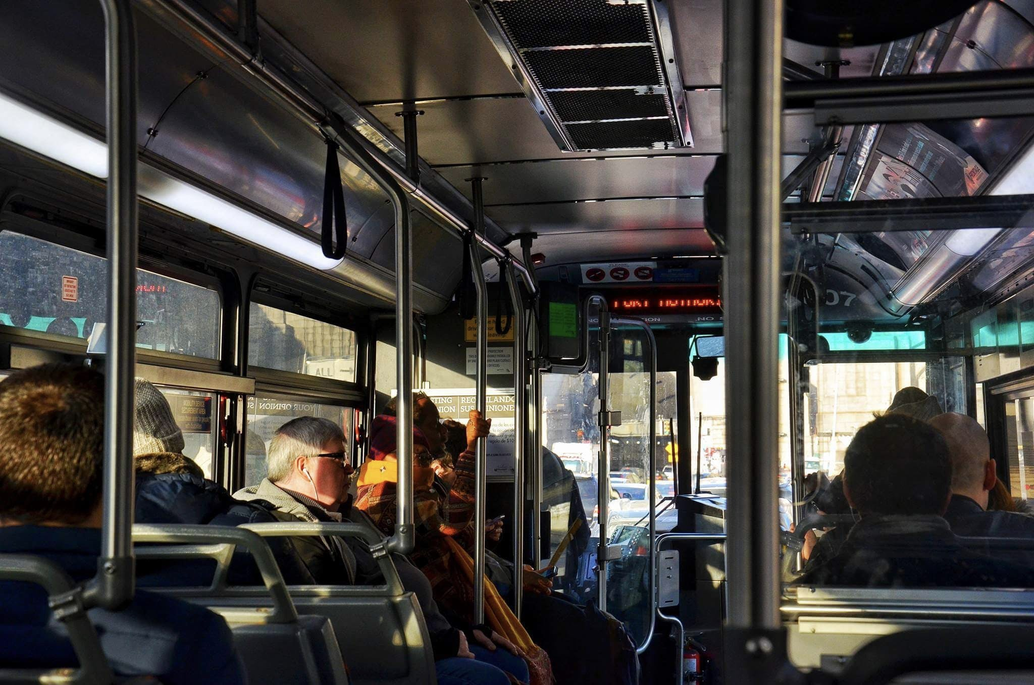 Free stock photo of new york city, people, public transport, sunlight