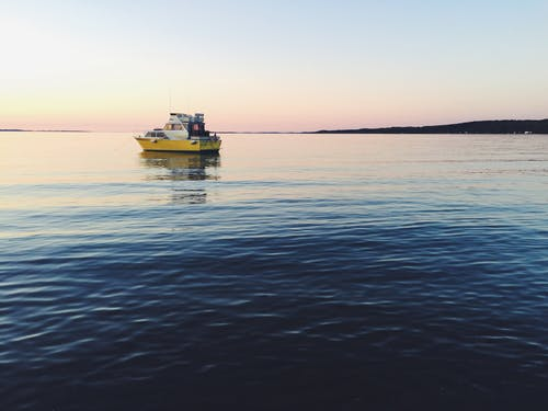 Imagine de stoc gratuită din barcă, mare