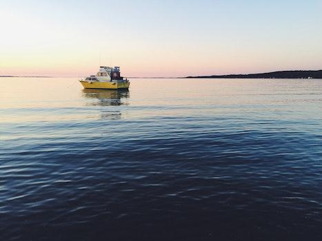Free stock photo of sea, boat