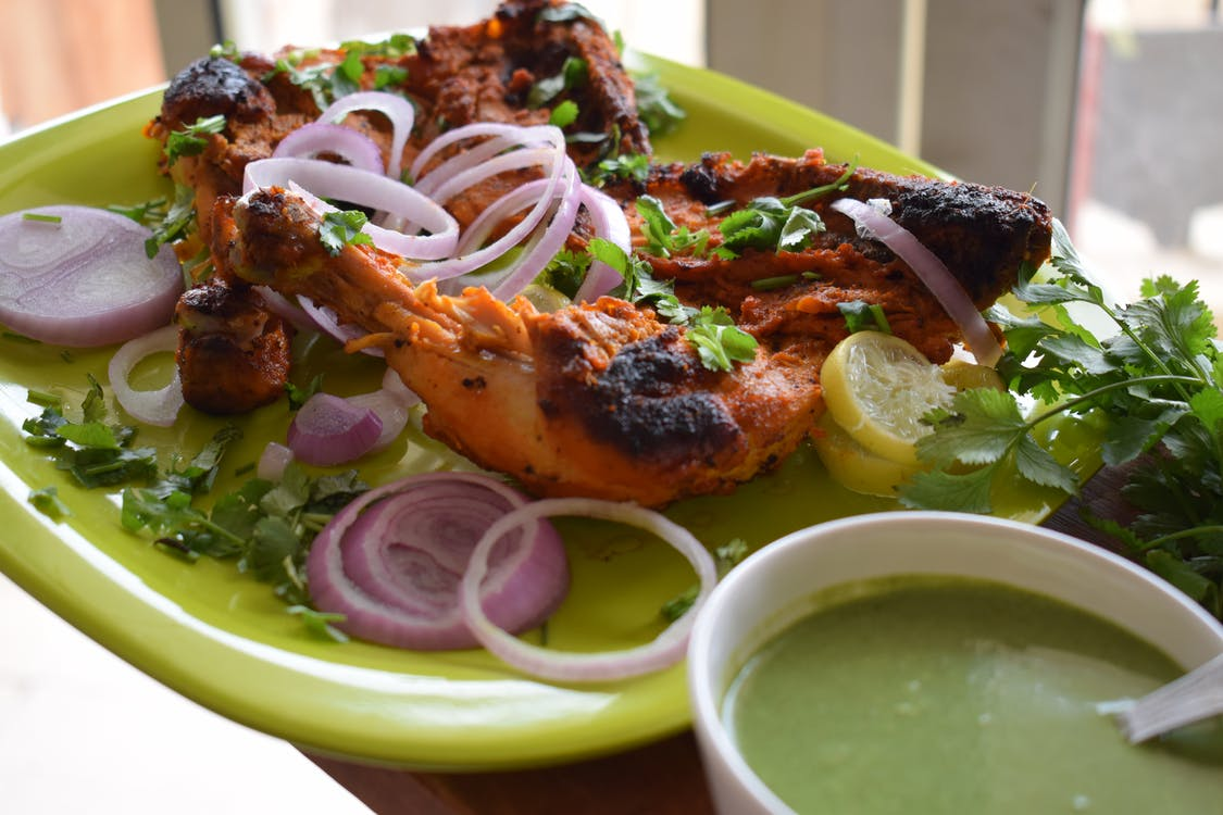 Free stock photo of Chicken Tandoori