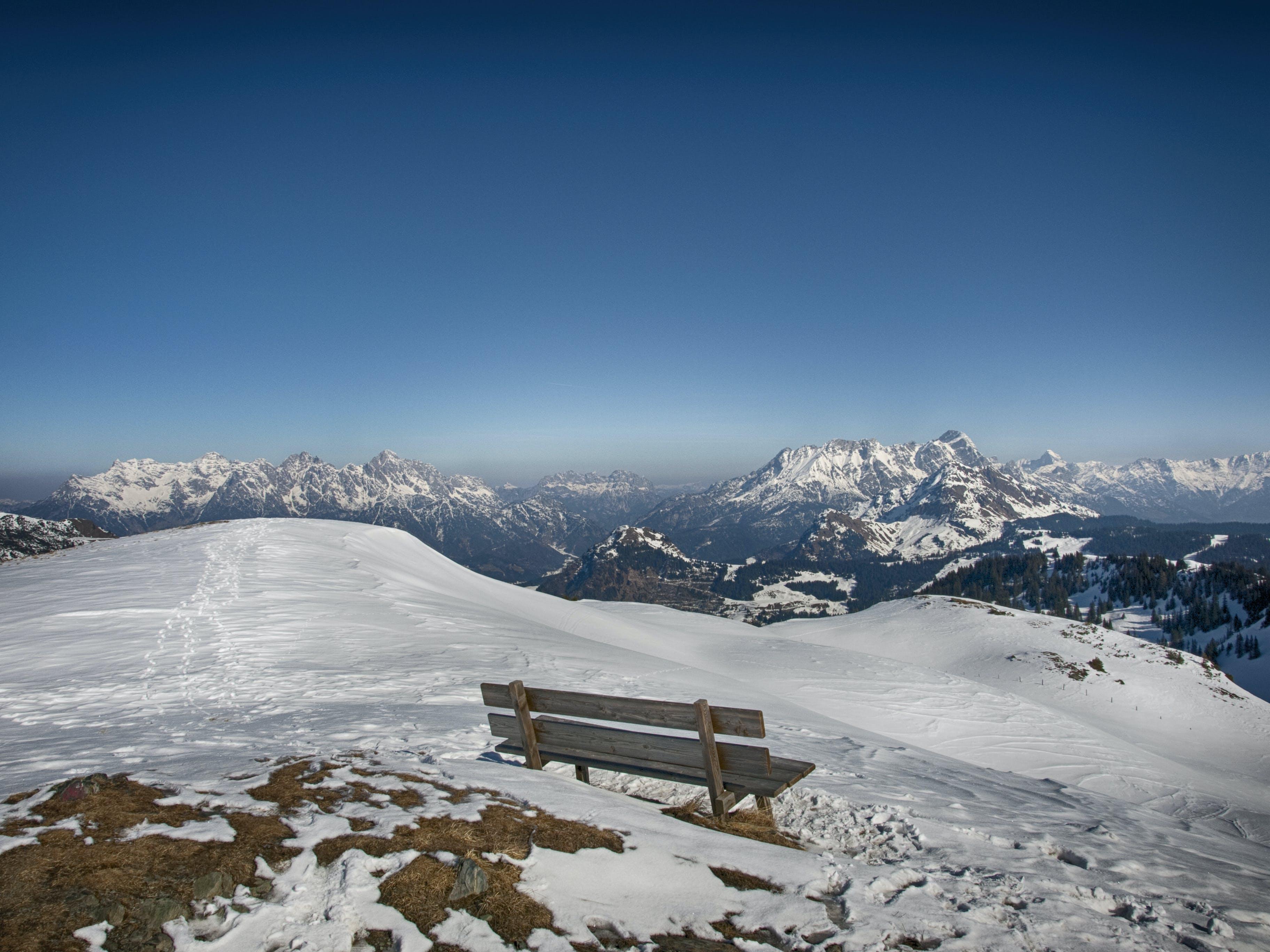 Free stock photo of snow, landscape, nature, sky