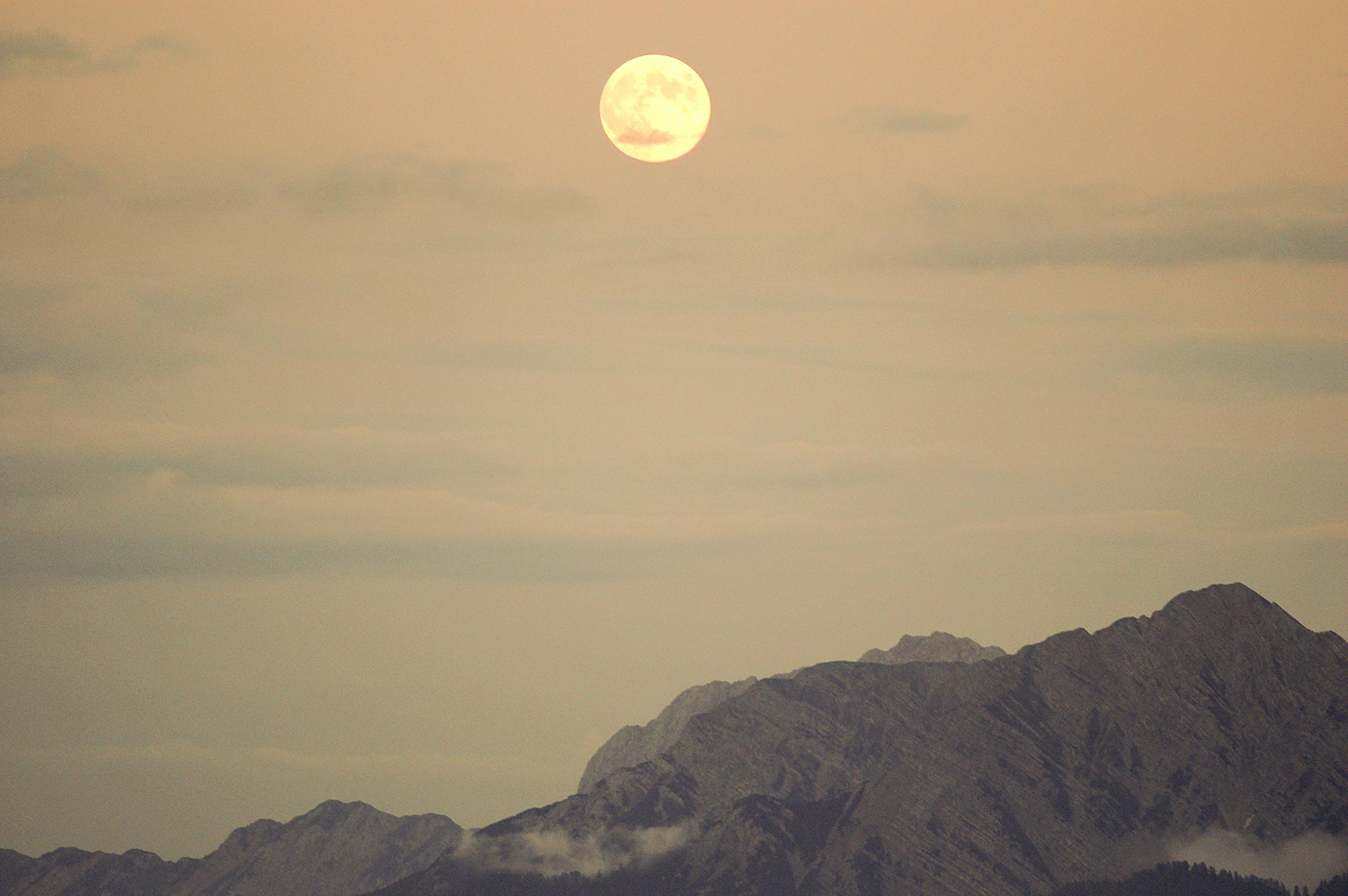 Free stock photo of dawn, nature, sunset, mountain