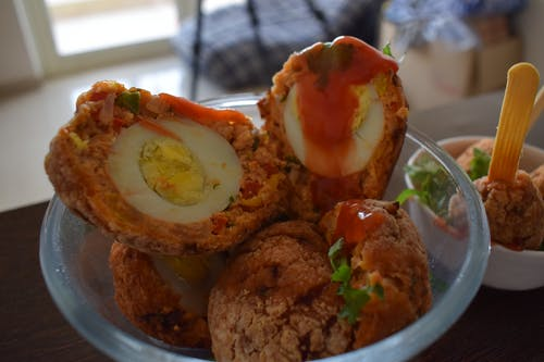 Free stock photo of Scotch Eggs