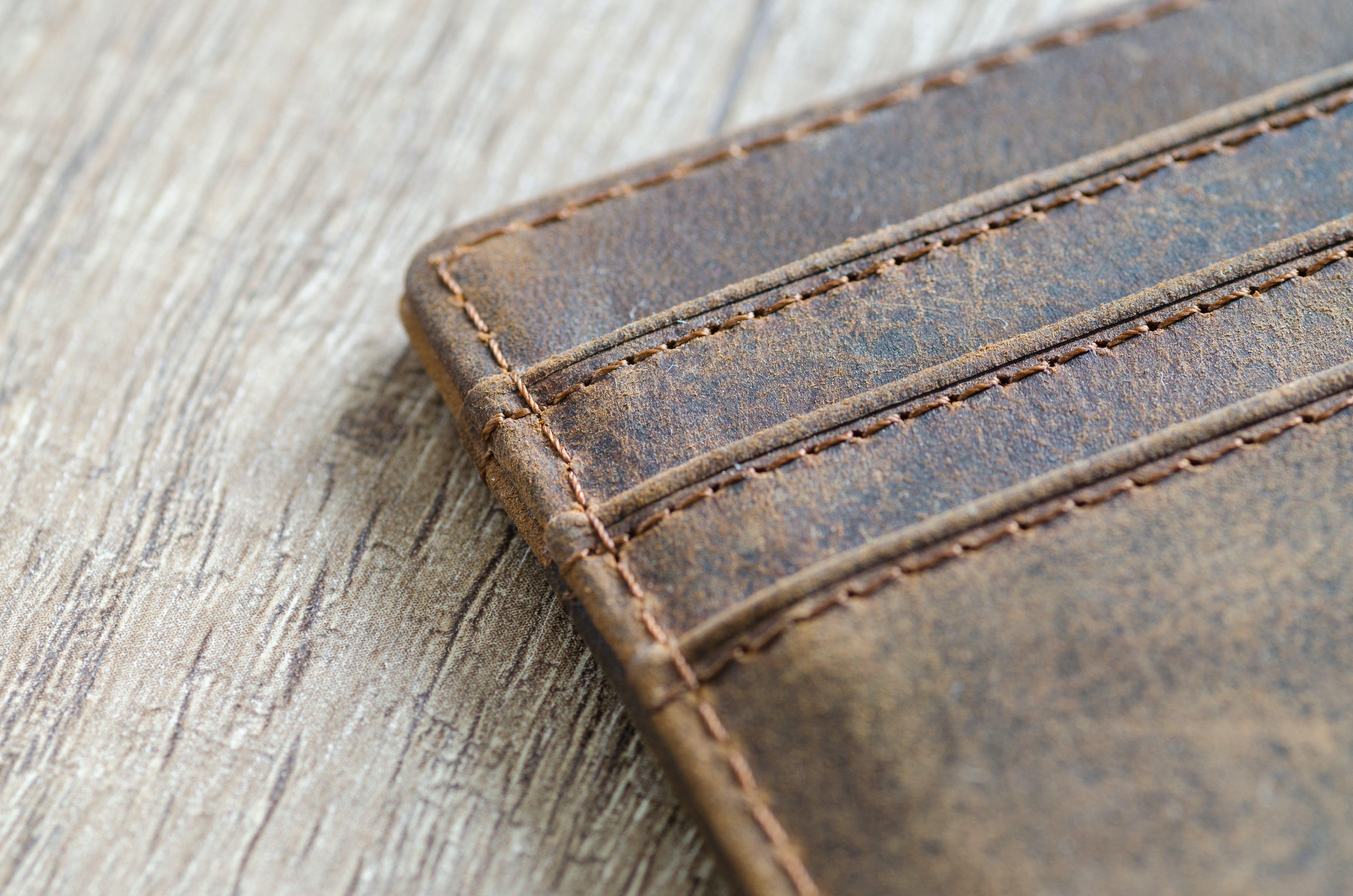 Kostenloses Stock Foto zu braun, brieftasche, design, leder