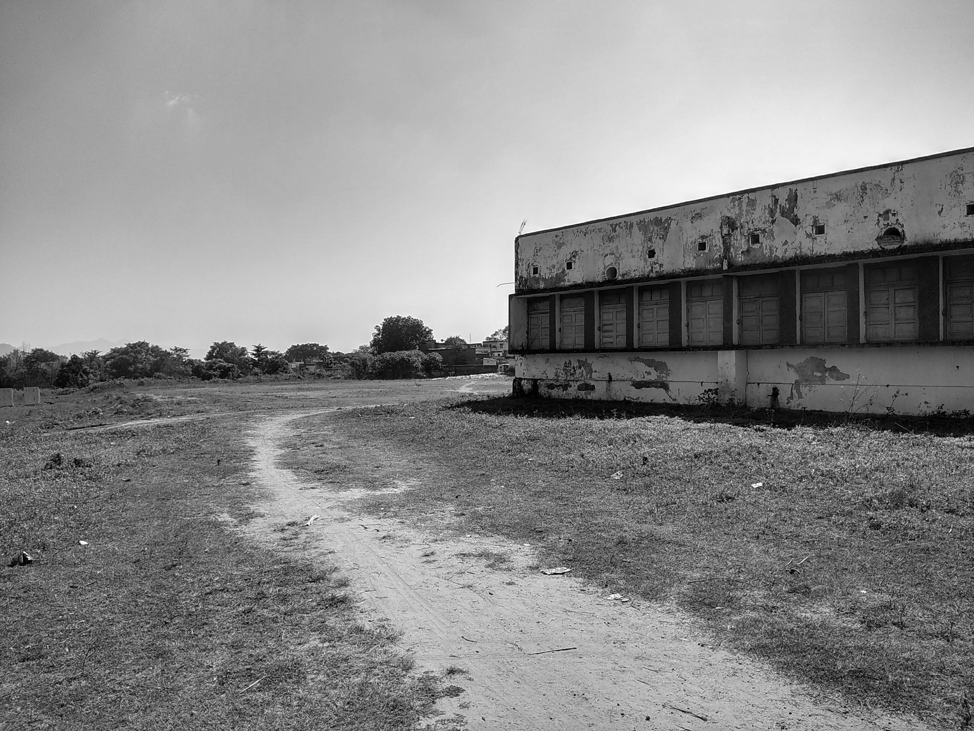 Vintage Photograph of Building