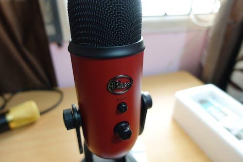 Free stock photo of blue yetti, usb mic